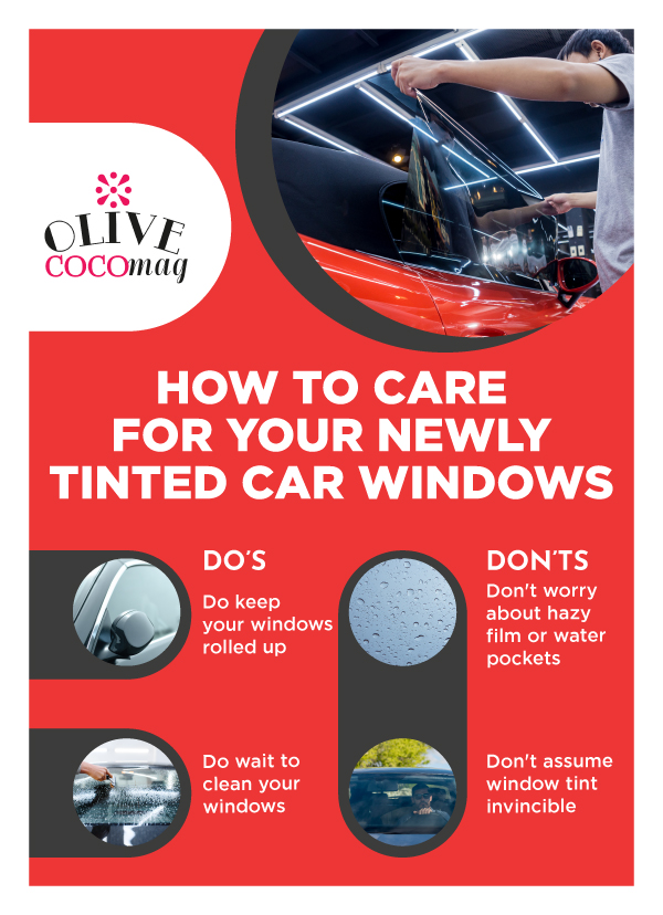 Aftercare Tips for New Window Tint